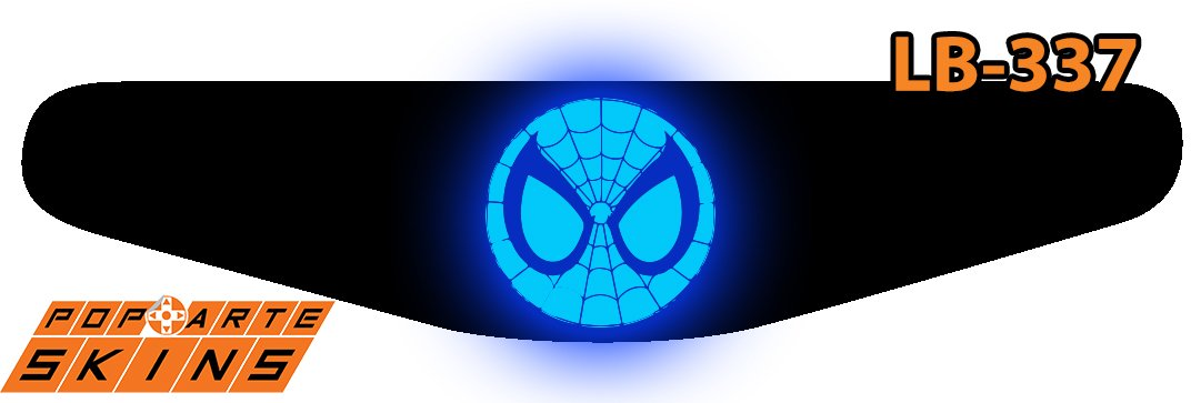 PS4 Light Bar - Homem-Aranha Comics