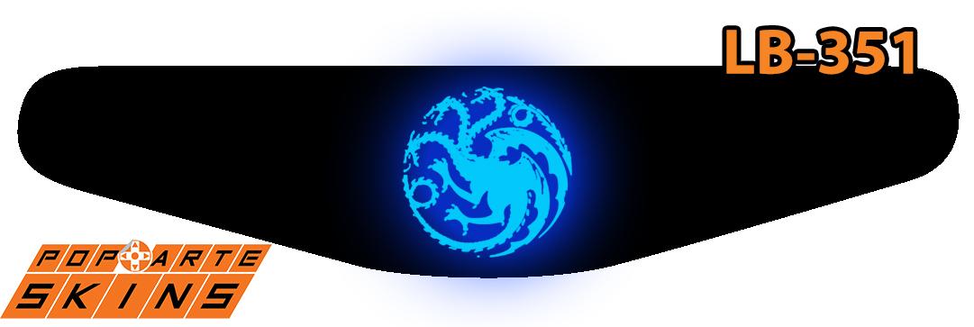 PS4 Light Bar - Game Of Thrones Targaryen