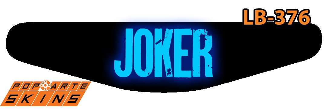 PS4 Light Bar - Joker Coringa Filme