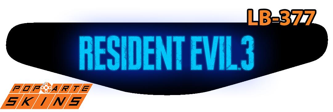 PS4 Light Bar - Resident Evil 3 Remake
