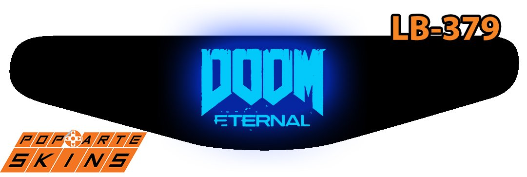 PS4 Light Bar - Doom Eternal