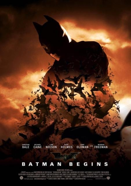 Poster Batman Begins #1