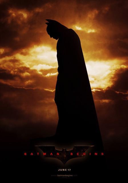 Poster Batman Begins #2