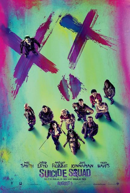 Poster Esquadrão Suicida #A