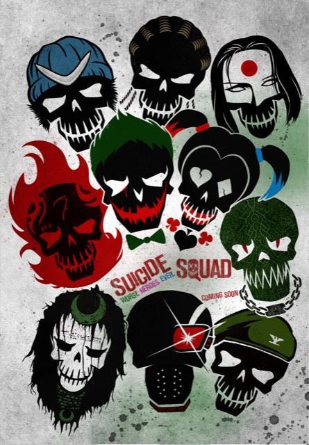 Poster Esquadrão Suicida #E