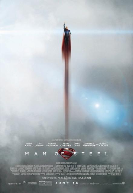 Poster Superman Homem de Aço #B