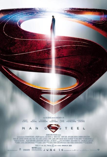 Poster Superman Homem de Aço #F