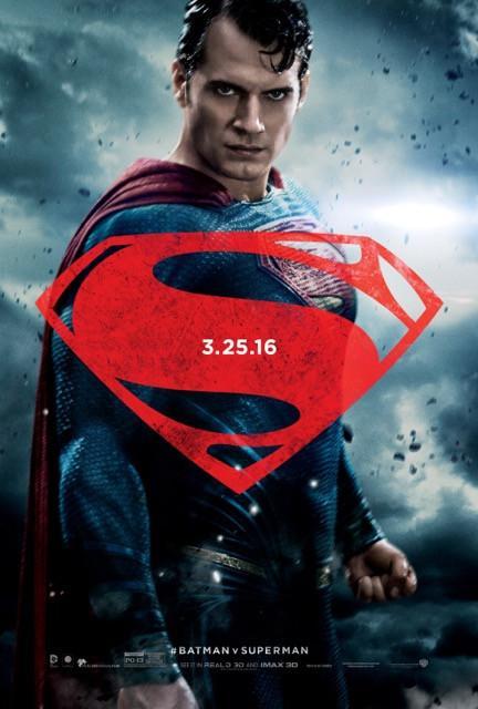 Poster Batman vs Superman: A Origem da Justiça #G