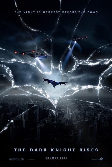 Poster Batman: O Cavaleiro Das Trevas Ressurge #C