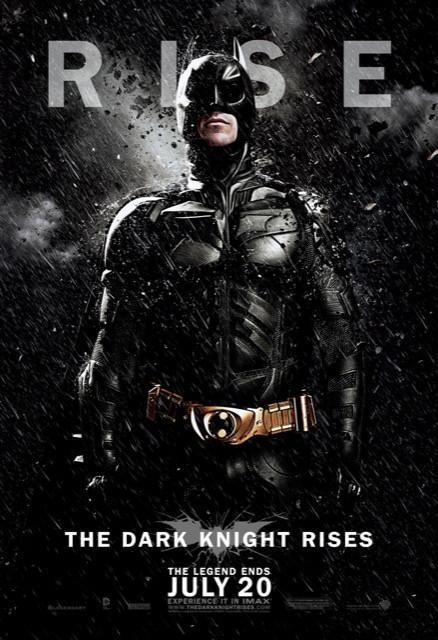 Poster Batman: O Cavaleiro Das Trevas Ressurge #F