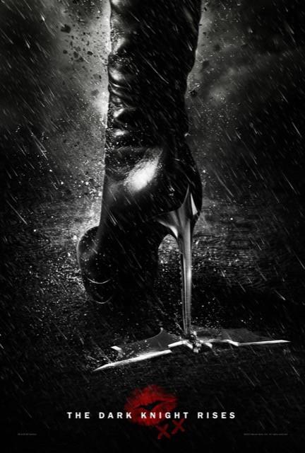 Poster Batman: O Cavaleiro Das Trevas Ressurge #H