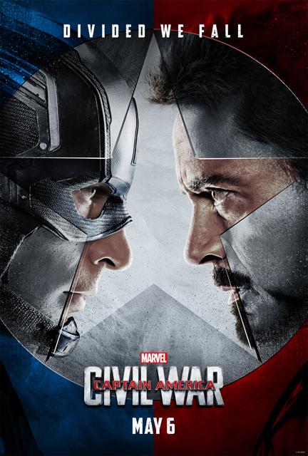 Poster Capitão América: Guerra Civil #A