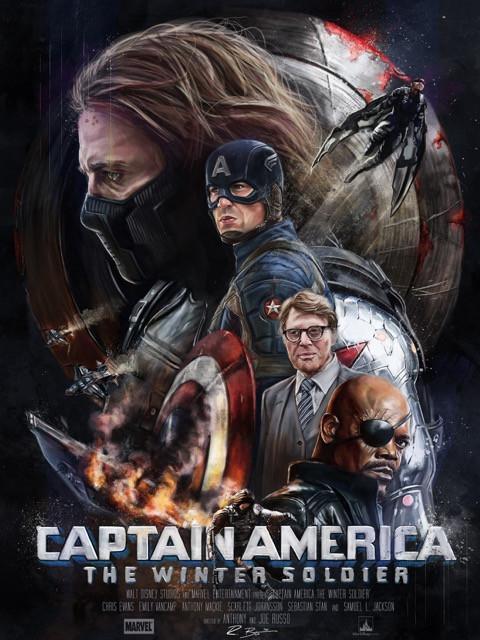 Poster Capitão América: Soldado Invernal #A