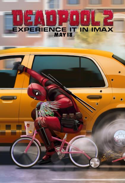 Poster Deadpool 2 #B
