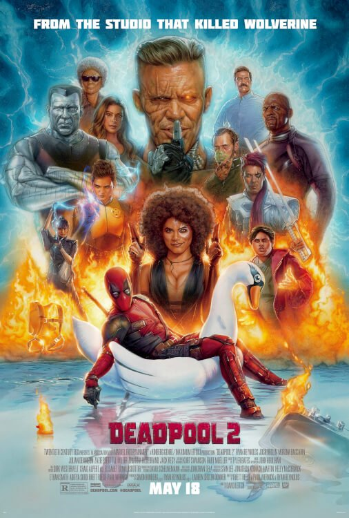 Poster Deadpool 2 #C
