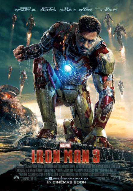 Poster Homem de Ferro 3 #A