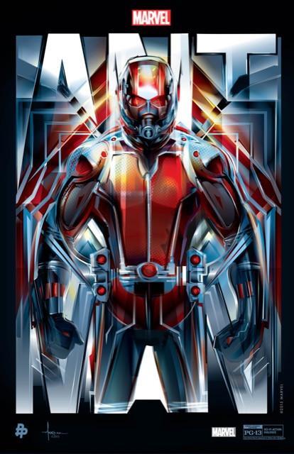 Poster Homem Formiga #D