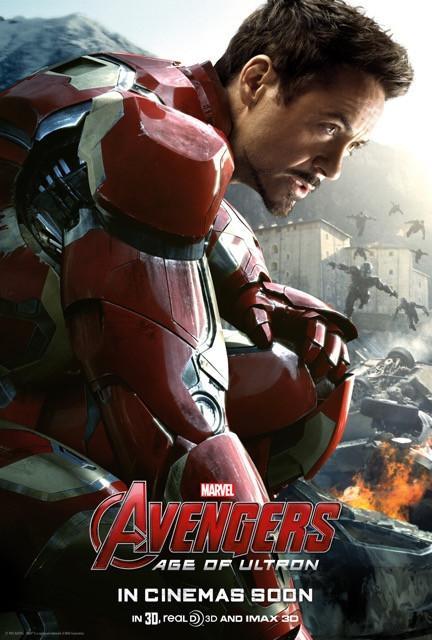 Poster Os Vingadores 2: A Era de Ultron #D