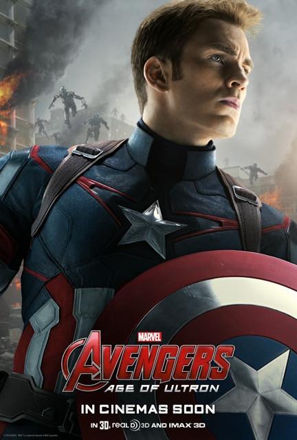 Poster Os Vingadores 2: A Era de Ultron #F