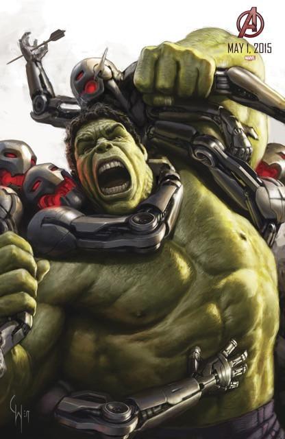 Poster Os Vingadores 2: A Era de Ultron #J