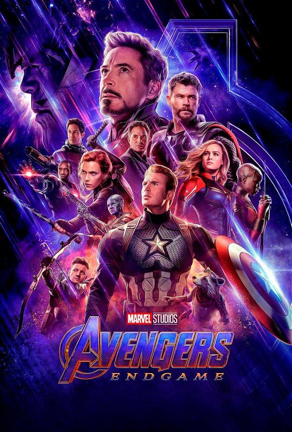 Poster Os Vingadores Ultimato Endgame #A