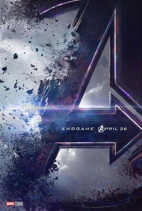 Poster Os Vingadores Ultimato Endgame #B