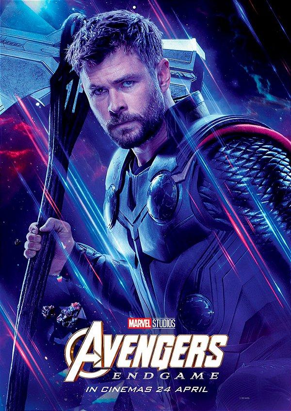 Poster Os Vingadores Ultimato Endgame #G
