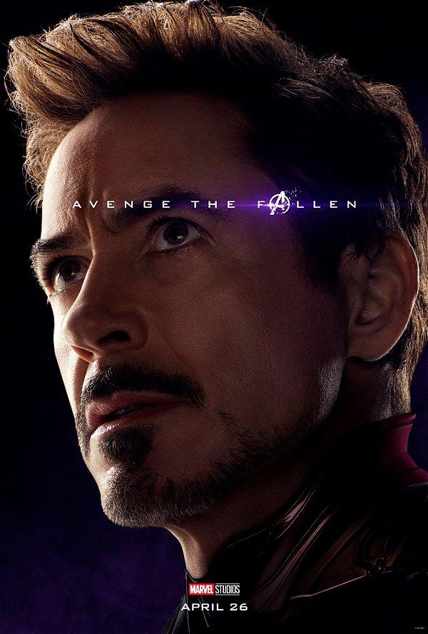 Poster Os Vingadores Ultimato Endgame #J