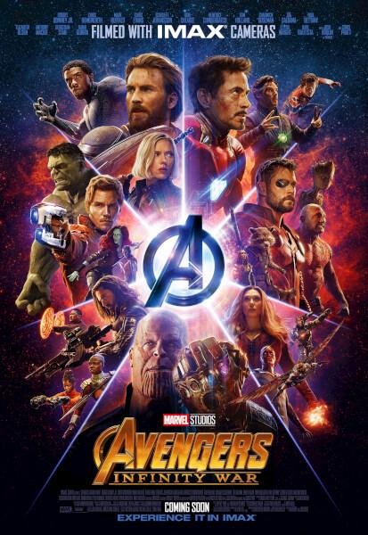 Poster Os Vingadores: Guerra Infinita #B