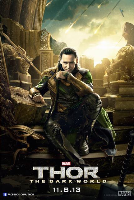 Poster Thor: O Mundo Sombrio #D