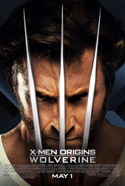 Poster X-Men Origins: Wolverine #B