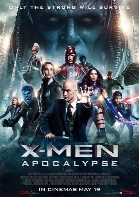 Poster X-Men: Apocalipse #B