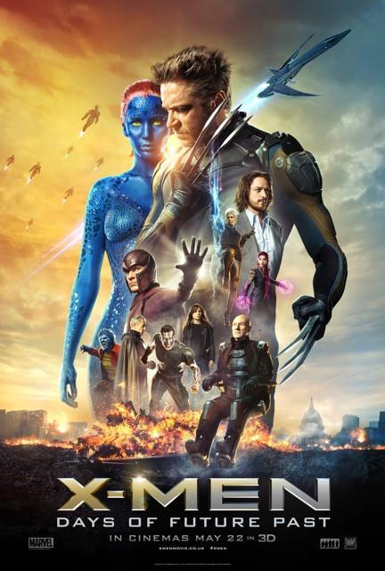 Poster X-Men: Dias de Um Futuro Esquecido #F