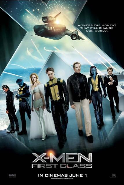 Poster X-Men: Primeira Classe #A