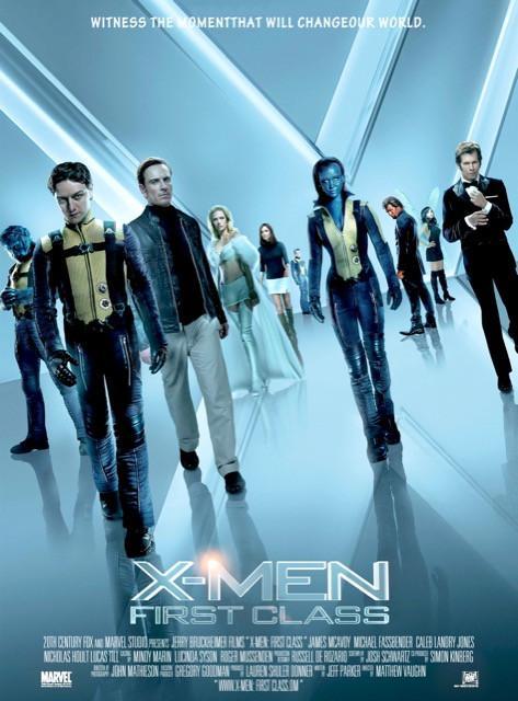 Poster X-Men: Primeira Classe #B