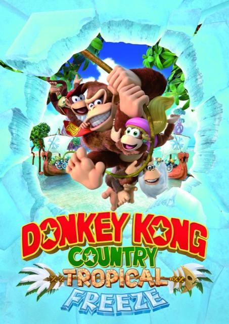 Poster Donkey Kong Tropical Freeze #B