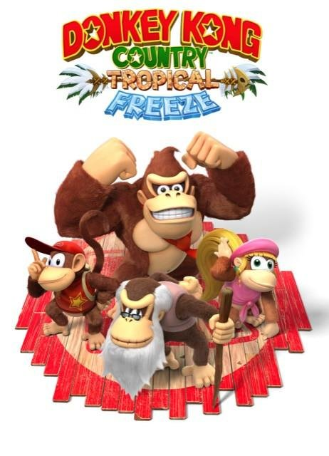 Poster Donkey Kong Tropical Freeze #C