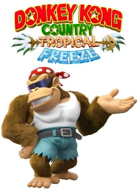 Poster Donkey Kong Tropical Freeze #D