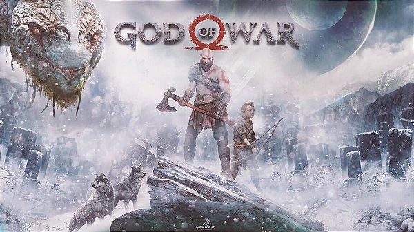 Poster God Of War 4 #C