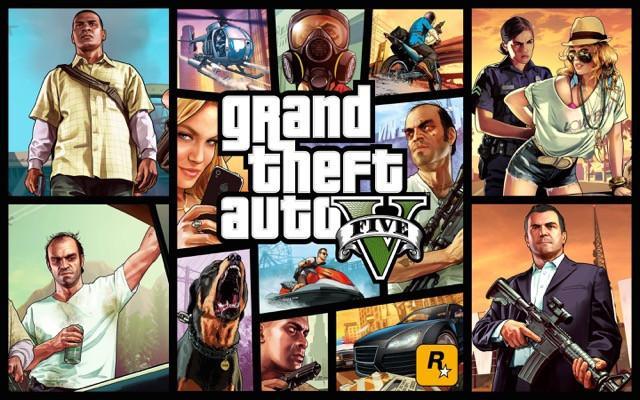 Poster Grand Theft Auto V - Gta 5 #C