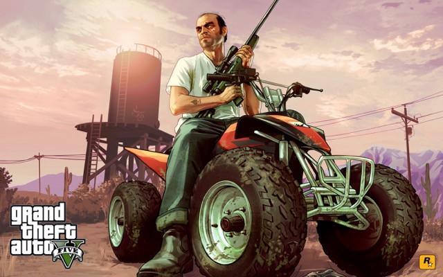 Poster Grand Theft Auto V - Gta 5 #F