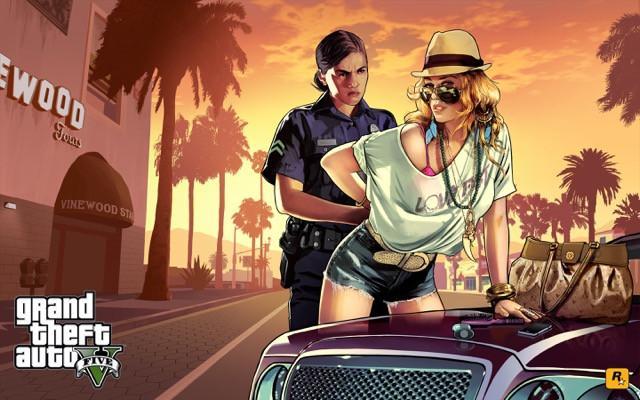 Poster Grand Theft Auto V - Gta 5 #I