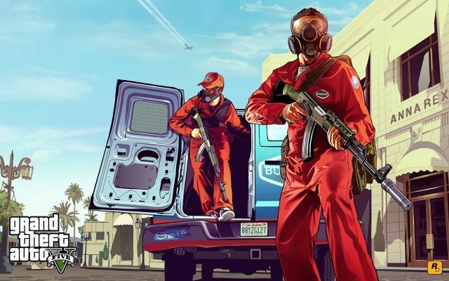 Poster Grand Theft Auto V - Gta 5 #K