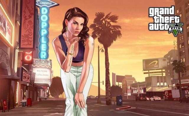 Poster Grand Theft Auto V - Gta 5 #L