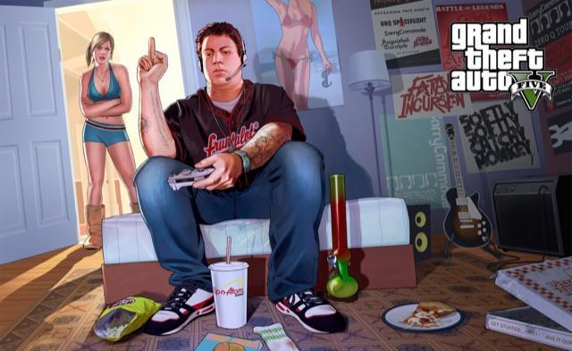 Poster Grand Theft Auto V - Gta 5 #O