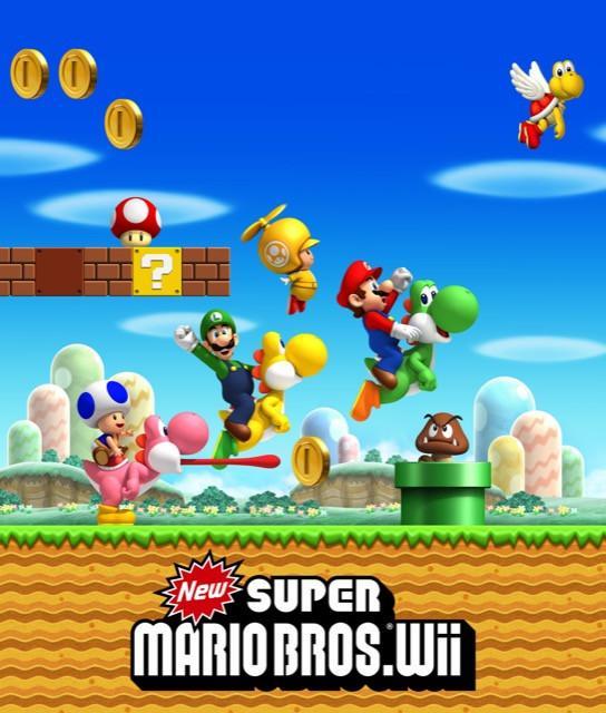 Poster New Super Mario Bros #C