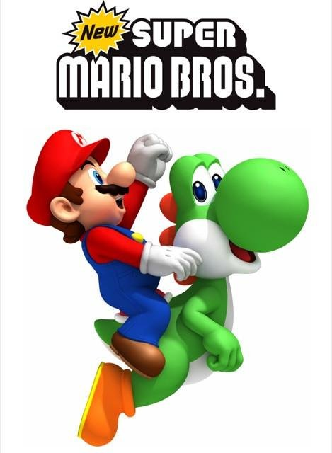 Poster New Super Mario Bros #D