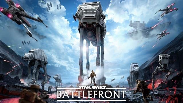 Poster Star Wars Battlefront #A