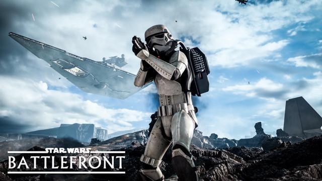 Poster Star Wars Battlefront #E