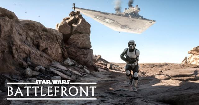 Poster Star Wars Battlefront #F